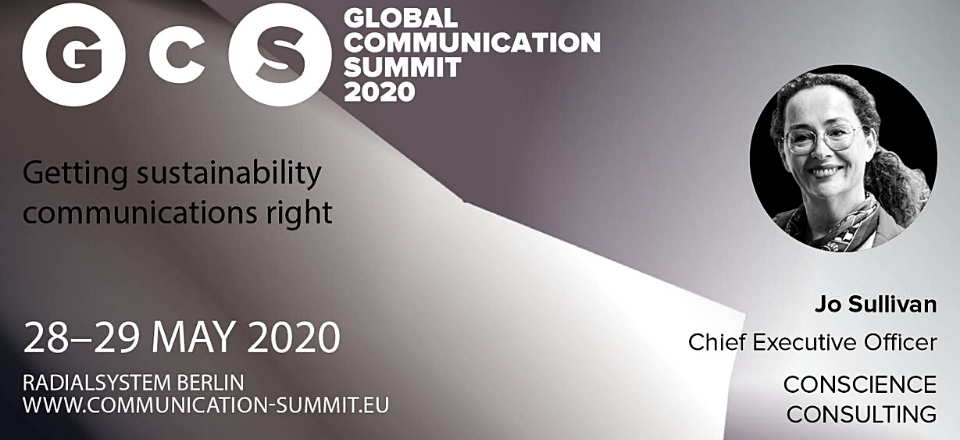 the global communication summit featuring jo