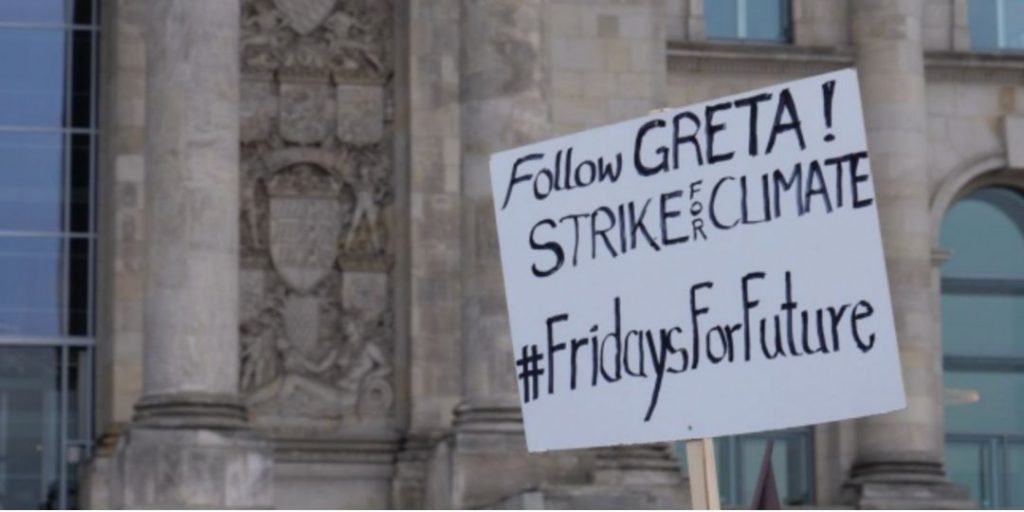 follow greta! Strike for climate