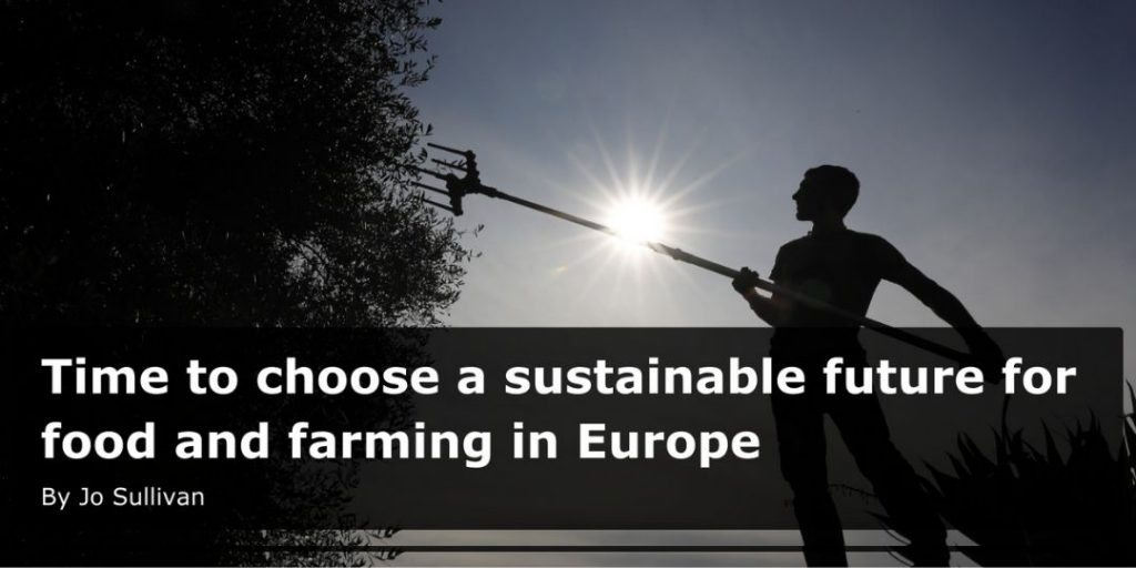 time to choose a sustainable future for food and farming in europe